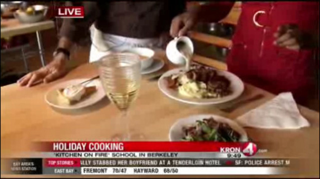 Kitchen on Fire shows how to prepare the perfect Thanksgiving meal