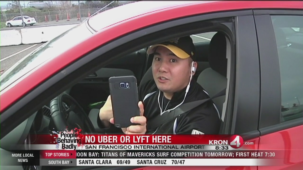 People Behaving Badly: Uber, Lyft cars not allowed in SFO