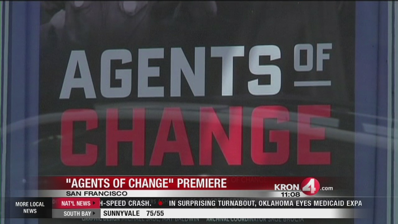 Agents of Change premieres at Castro Theater in San Francisco