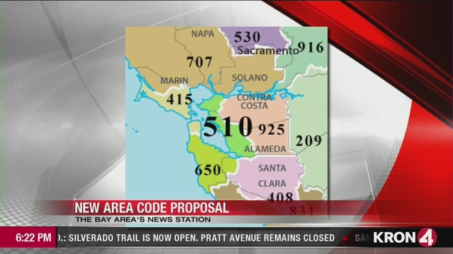 510 area code will no longer be given out to East Bay residents