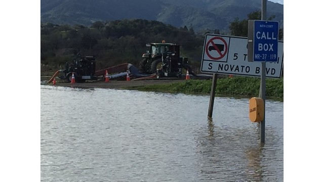 VIDEO: Evacuations ordered for East Palo Alto in wake of storm flooding