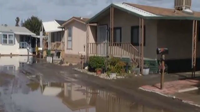 VIDEO San Jose Mobile Home Park Apartment Reopen After Flooding