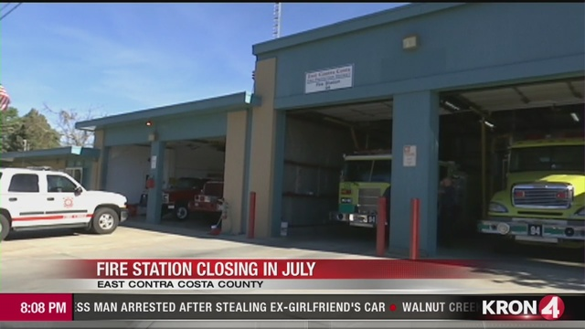 VIDEO: Contra Costa County Fire Station No. 94 To Close Its Doors In July