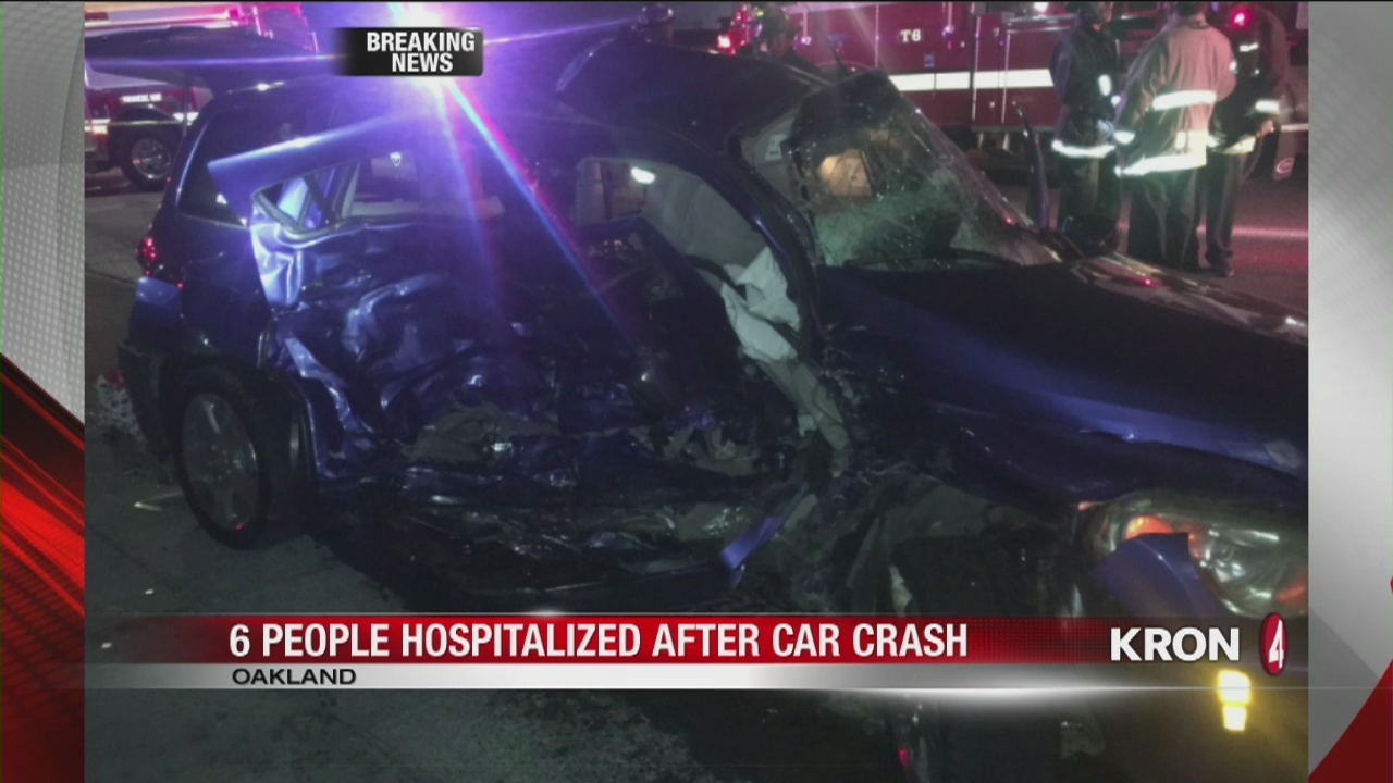 video: 2 children killed in two-vehicle crash in oakland