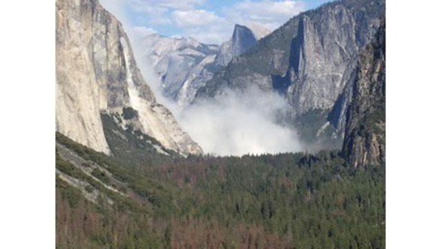 VIDEO Second Massive Rockslide In 2 Days Hits El Capitan At