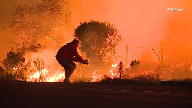 Live Interactive Map Fires Burning Across Southern California