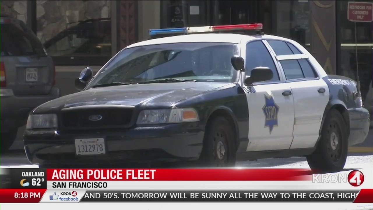 police union san francisco police cars are old unsafe and unreliable