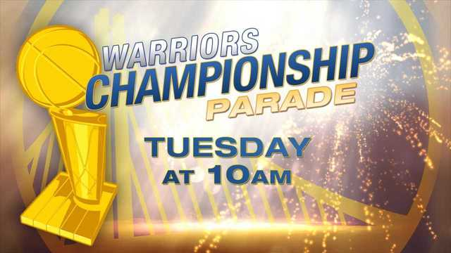 Warriors Championship Parade set for Tuesday