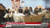 Founder's Day of Caring at the SF-Marin Food Bank