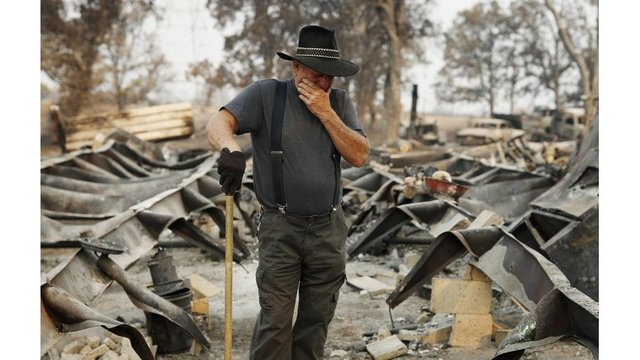 Redding man struggles to cope with loss of family in Carr Fire