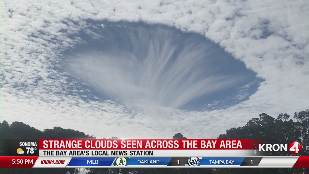 strange cloud formation puzzles bay area