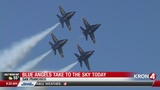 Thousands to watch Blue Angels Airshow on the Marina Green