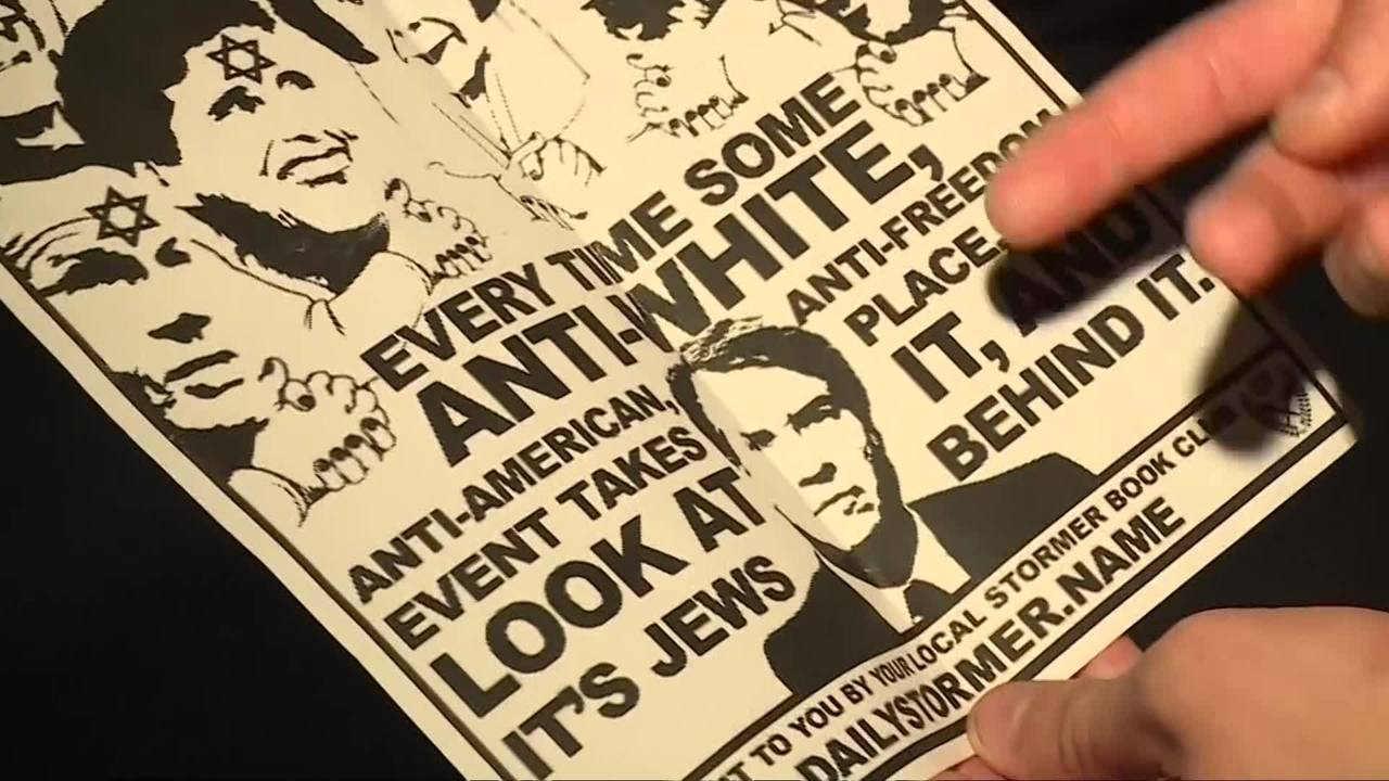 Anti Semitic Flyers Posted On Uc Davis Campus