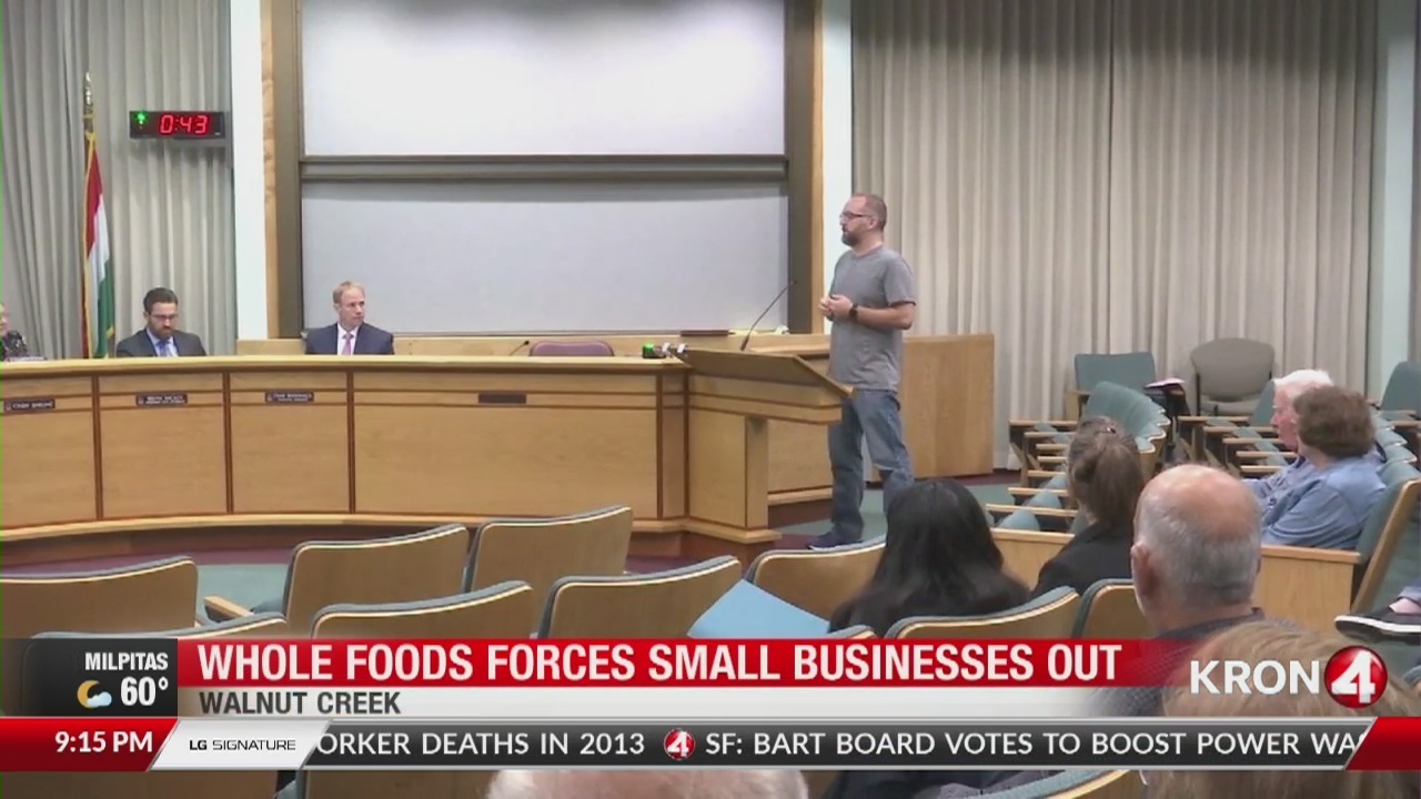 walnut creek residents sound off on whole foods forcing out family
