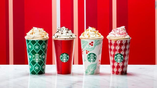 Starbucks Happy Hour today offering BOGO holiday drinks