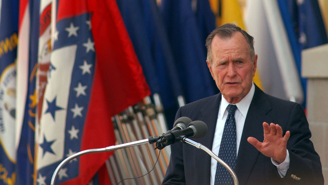USPS suspends mail delivery Wednesday for day of mourning for George H.W. Bush