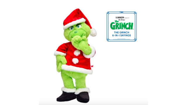 Build A Bear Christmas 2019.Build A Bear Releases A Plush Grinch Just In Time For The