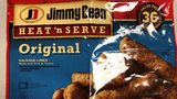 Jimmy Dean frozen sausages recalled over possible metal contamination