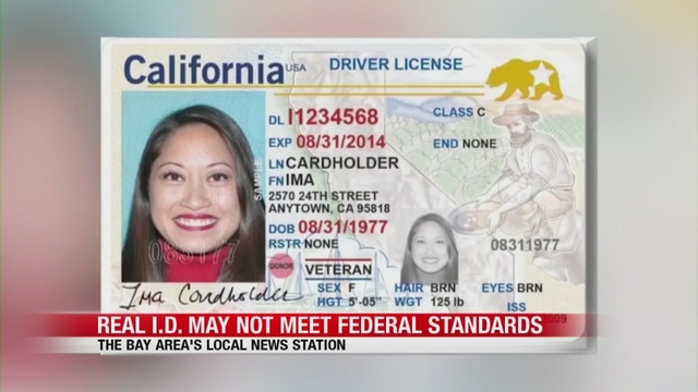 Federal To Be For Implemented Requirements Stricter Real California's Ids