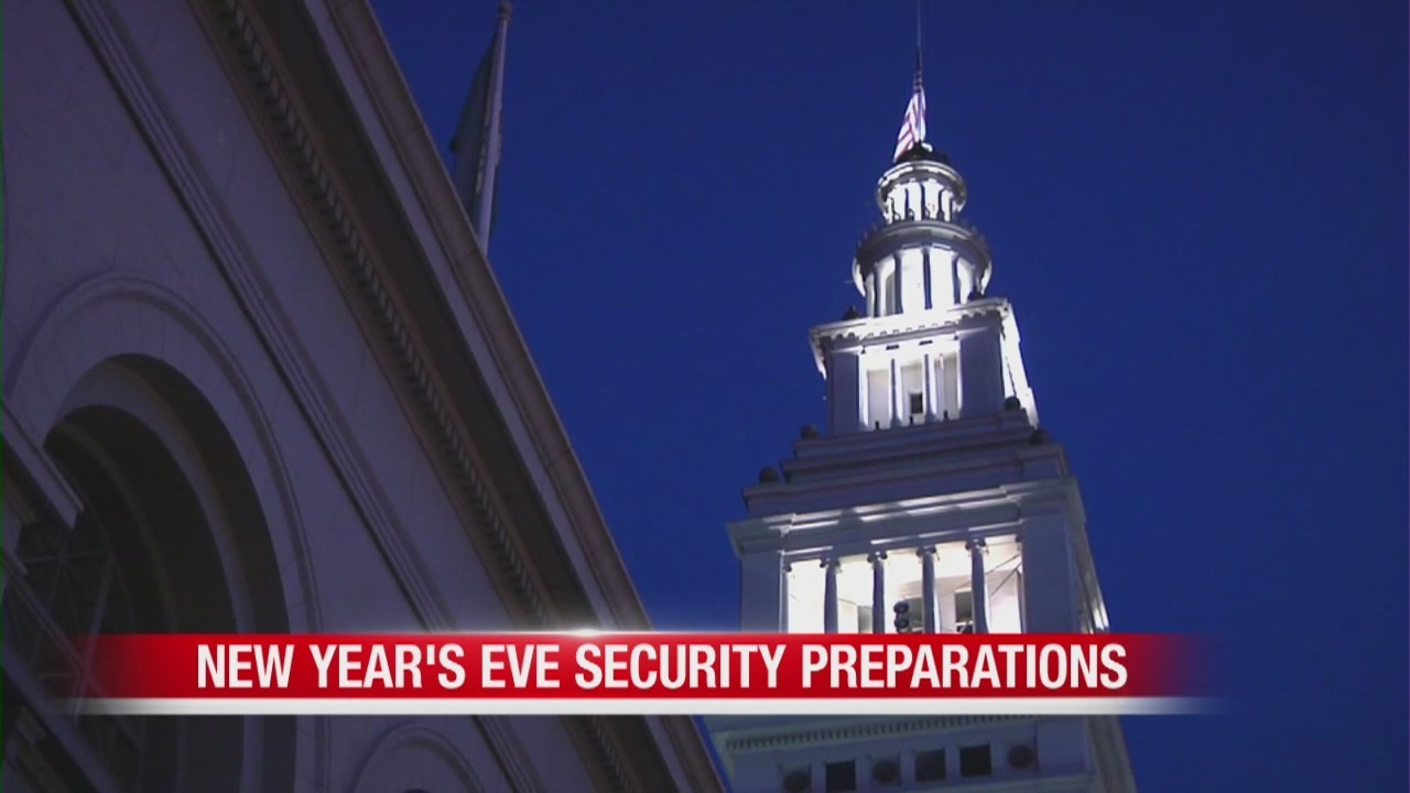 Safety measures in San Francisco ahead of New Year's Eve