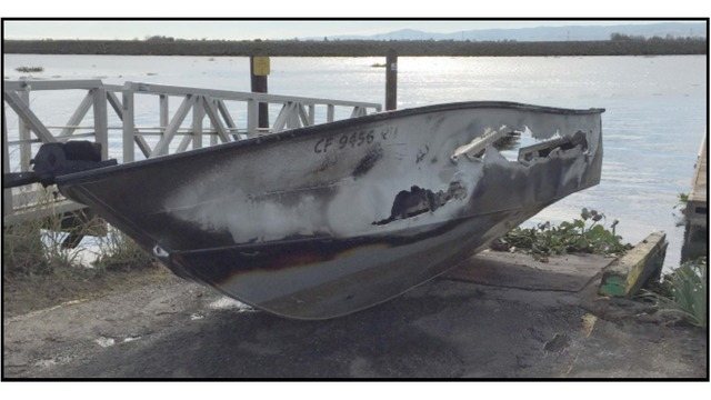 Authorities say boat thefts on the rise in the Delta
