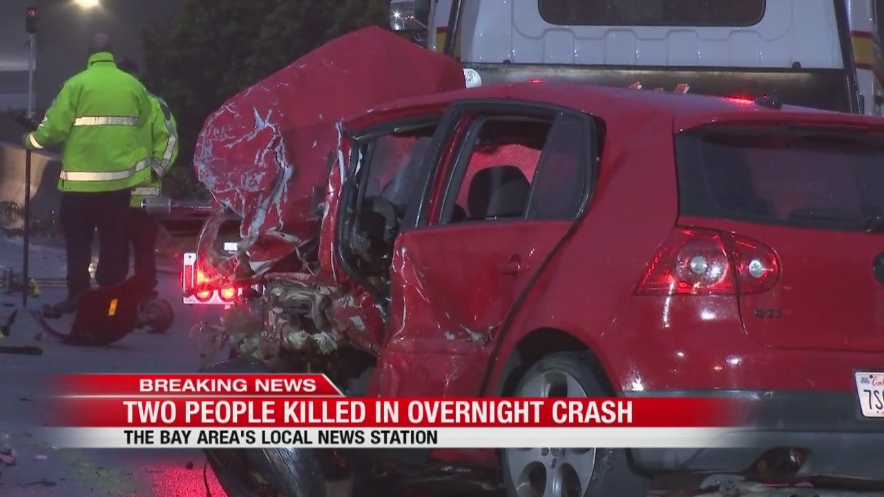 accident involving wrong-way driver leaves 2 dead and 9 injured