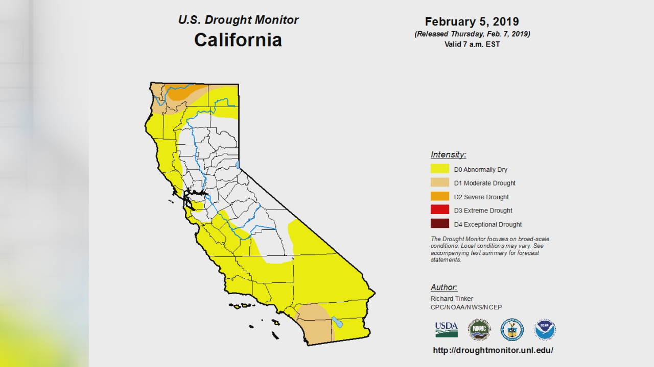 It's been a wet winter; here's how that's affected California drought conditions