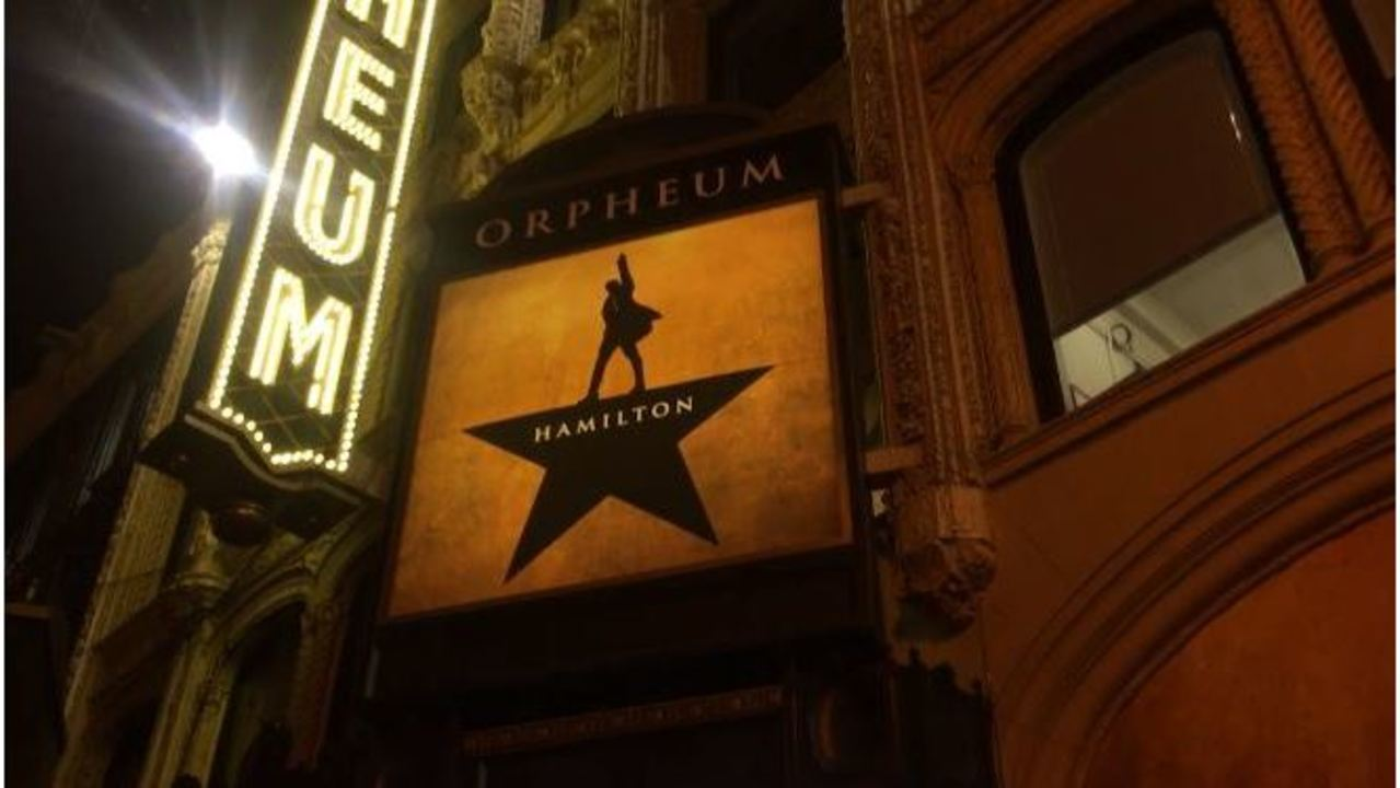 Medical emergency causes chaos during Hamilton performance - KRON4 image