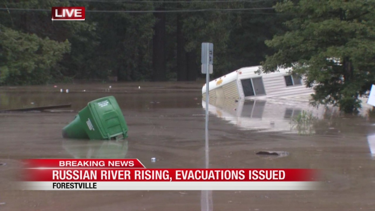 Russian River Rising Guerneville Prepares For Worst