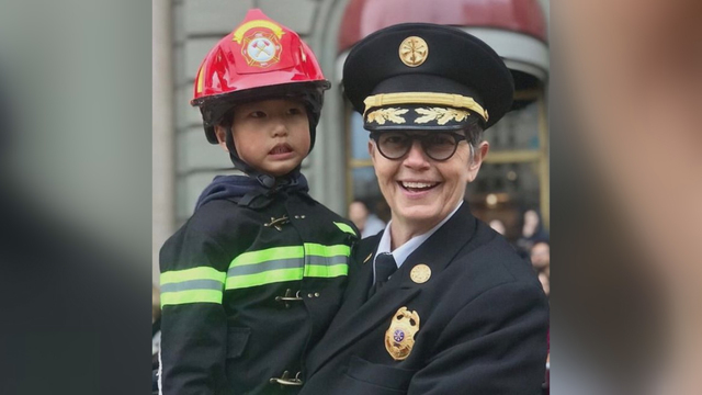 SF's new fire chief Jeanine Nicholson is first LGBT chief in city's history