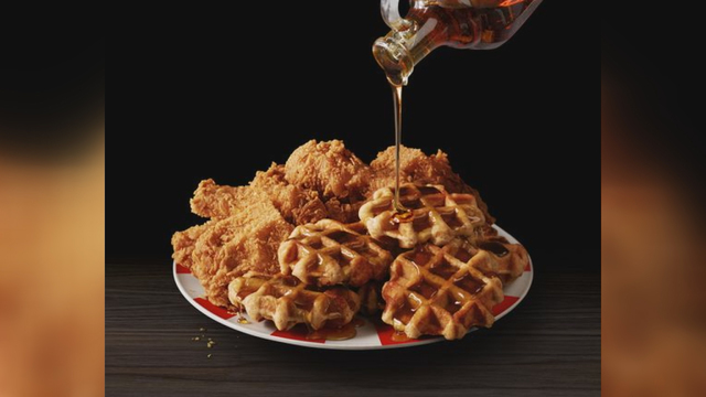 'Chicken and Waffles' return to KFC menus nationwide