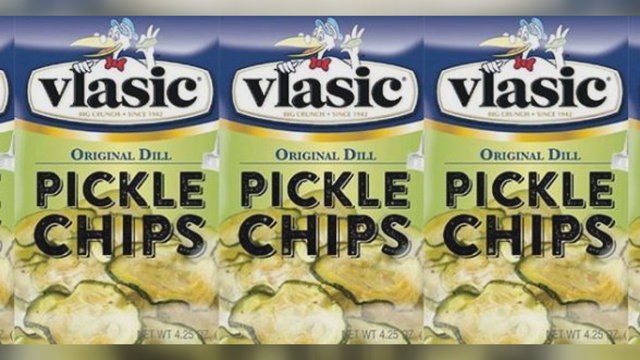 Vlasic to sell pickle chips made from actual pickles