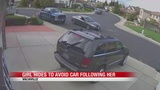 WATCH: Girl hides to avoid car apparently following her in Vacaville