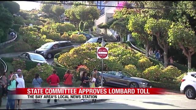 Lombard Street toll one step closer to reality