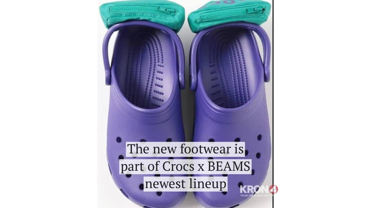 d57b6c905b69 You can now buy Crocs with mini fanny packs attached to them