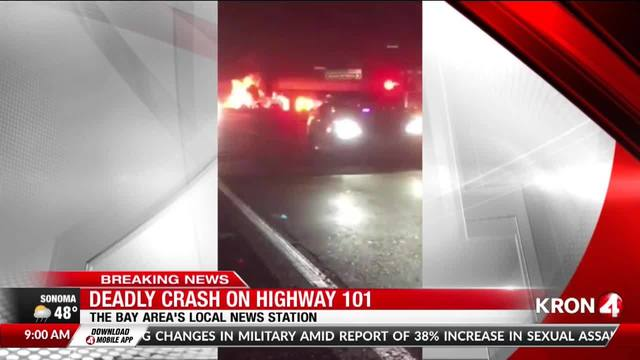 All lanes reopen on HWY 101 near Brisbane after deadly accident