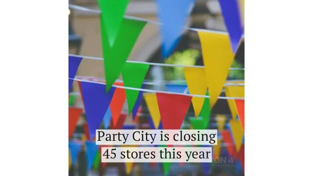 Party City closing nearly 50 stores