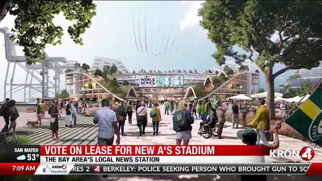 Officials to vote Monday on deal to build new A's waterfront ballpark