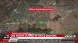 Suspect injured in Fairfield officer-involved shooting