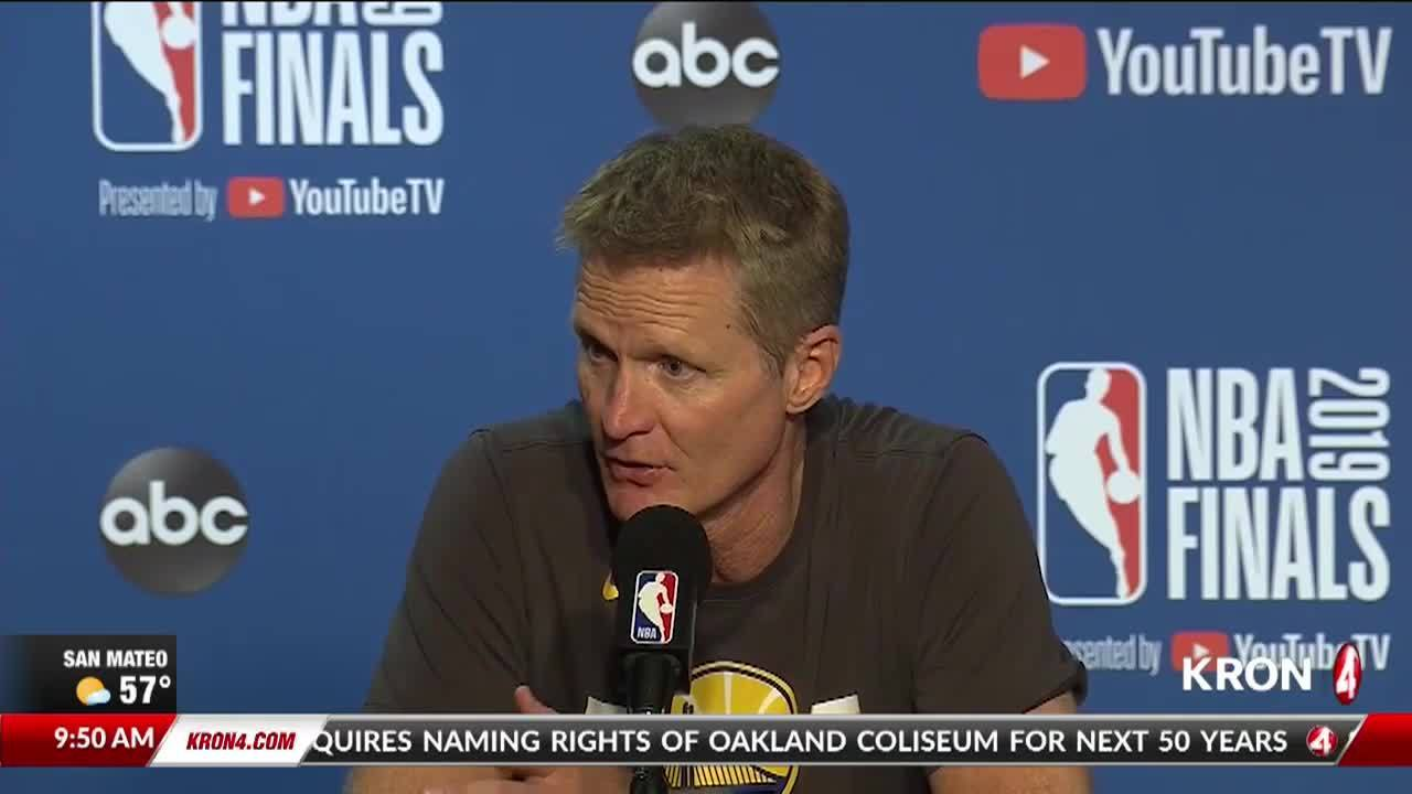 KRON4 Morning Buzz: Warriors lose Game 3 of NBA Finals