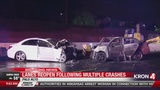 Deadly crash involving wrong-way driver on HWY 101 in Palo Alto