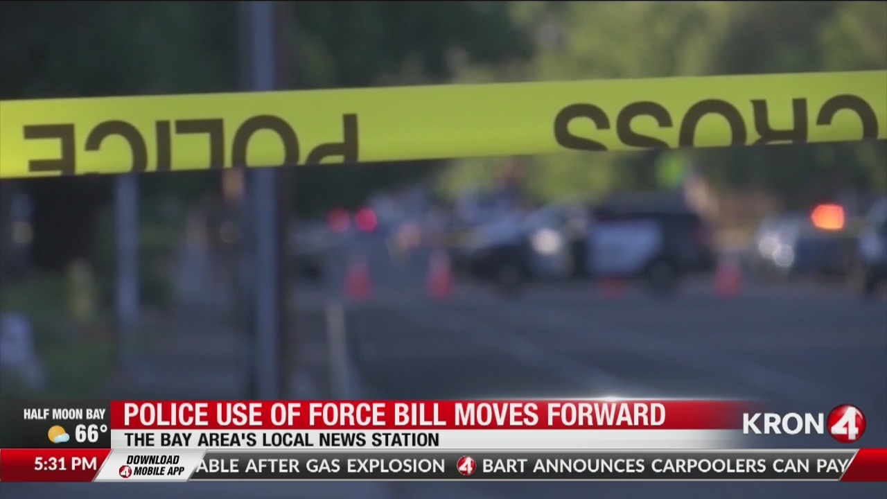 Bill to change police use of force standard moving through state legislature