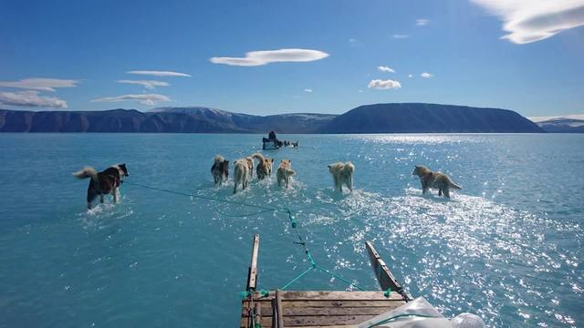 Scientist captures reality of Greenland melting