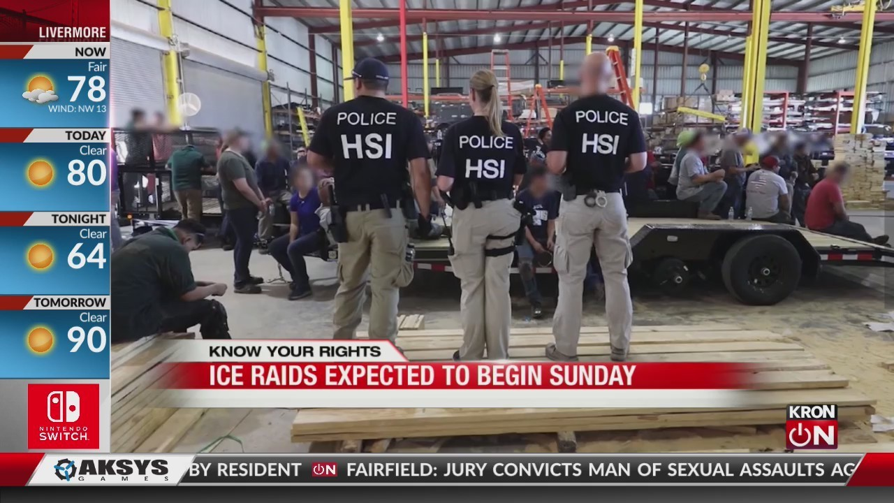 Here's what to do if you're approached by ICE agents
