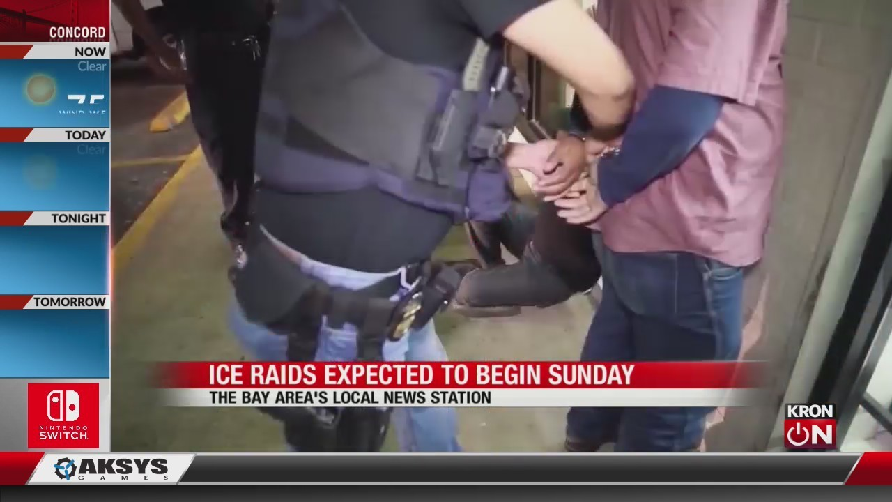 Ice To Begin Immigration Raids In 10 Us Cities On Sunday