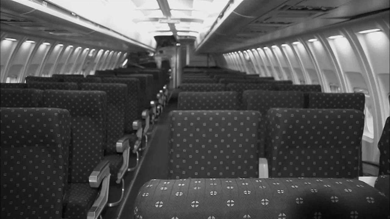 Woman claims she woke up alone on parked, empty plane